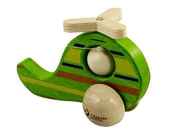 Іграшка дерев'яна яна вертоліт-каталка №3067 (6) Classic World