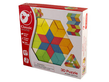 Іграшка дерев'яна яна 3Д пазл №3728 Classic World