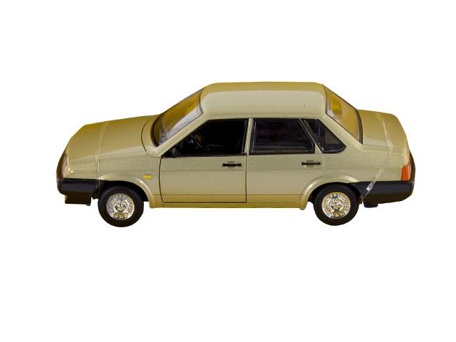 """Машина мет.на бат-ці,звук.""""Автопром""""ВАЗ,в кор-ці,24,5х12,5см №21099(12)(24)КІ"""