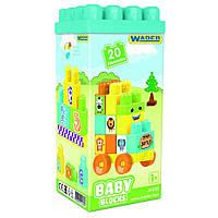 """Мої перші кубики """"Baby Blocks"""" 20шт,в кор-ці №41430/Тигрес/"""