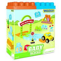 """Мої перші кубики """"Baby Blocks"""" 30шт,в кор-ці №41440/Тигрес/"""