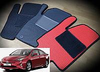 Коврики на Toyota Prius '16-. Автоковрики EVA