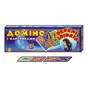 """Доміно """"Веселі звірята"""",""""Технокомп"""" №2544(16)"""