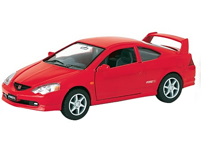 "Машина метал. ""Kinsmart"" Honda Integra Type-RI,в кор-ці,16х8,5х7,5см №KT-5053-W(24)(96)"