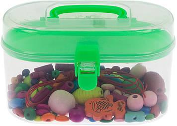 Іграшка дерев. Шнурівка у валізі,12х7,5х7см,3кольор. №MD 2200(80)