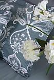 Комплект постельного белья  200*220 TM PAVIA Carlotte green, фото 3