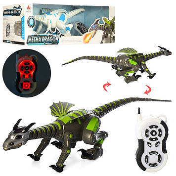 Динозавр на керув.,муз.,звук,ходити,рухає головою,хвостом,у кор-ці №28303(4)