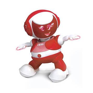 """Робот інтеракт. """"Discorobo-Алєкс"""" танцює,звук.,укр. мов.,черв. №TDV105-U/Кідді світ/"""