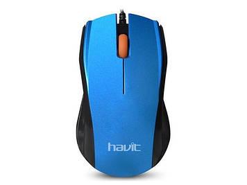 Мишка Havit HV-MS689 USB blue
