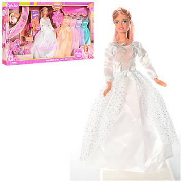 """Лялька """"Defa"""" 29см,кіт,одяг,взуття,у кор-ці,62х32,5х6см №6073B(12)"""