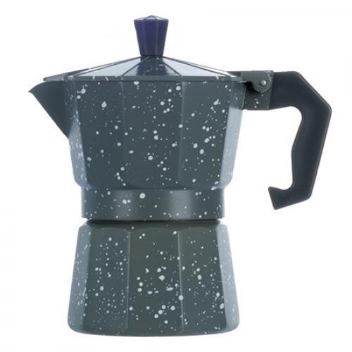Гейзерная кофеварка R16591 Grey Point на 3 чашки (gr006550)