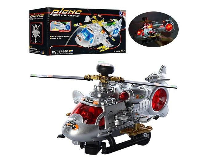Вертоліт на бат-ці,звук,світ.,їздить.,обертається гвинт,в кор-ці,21,5х12х8см №777(48)