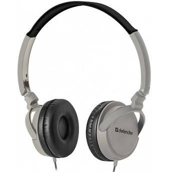 Навушники Defender Accord 160 (гарнітура) black/grey+мікрофон