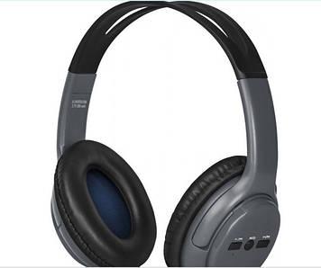 Навушники Defender Free Motion B520 grey+bluetooth,мікрофон