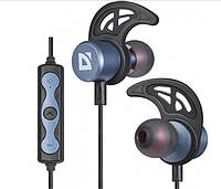 Навушники вакуумні Defender FreeMotion B685(bluetooth,stereo,гарнітура)blue-metal+мікрофон