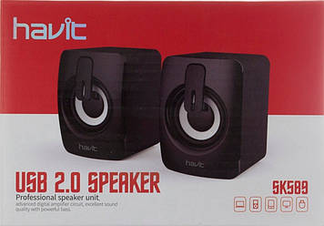 Колонка Havit HV-SK589 USB 2.0 speaker black №5930