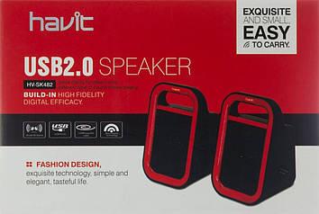 Колонка Havit HV-SK482 USB black/red №7692