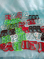 Вырубки буквы 6 см