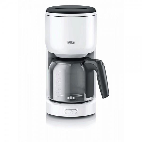 Кофеварка BRAUN KF 3120 WH (F00159236)