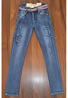 Светлые джинсы РВАНКИ для девочек подростков.Размеры 134-158 см. Венгрия