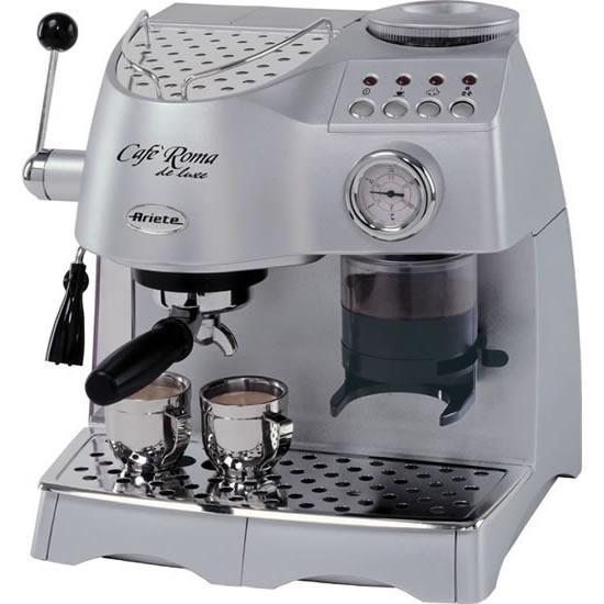 Кофеварка Ariete 1329 Cafe Roma Delux Серебристый (F00061763)