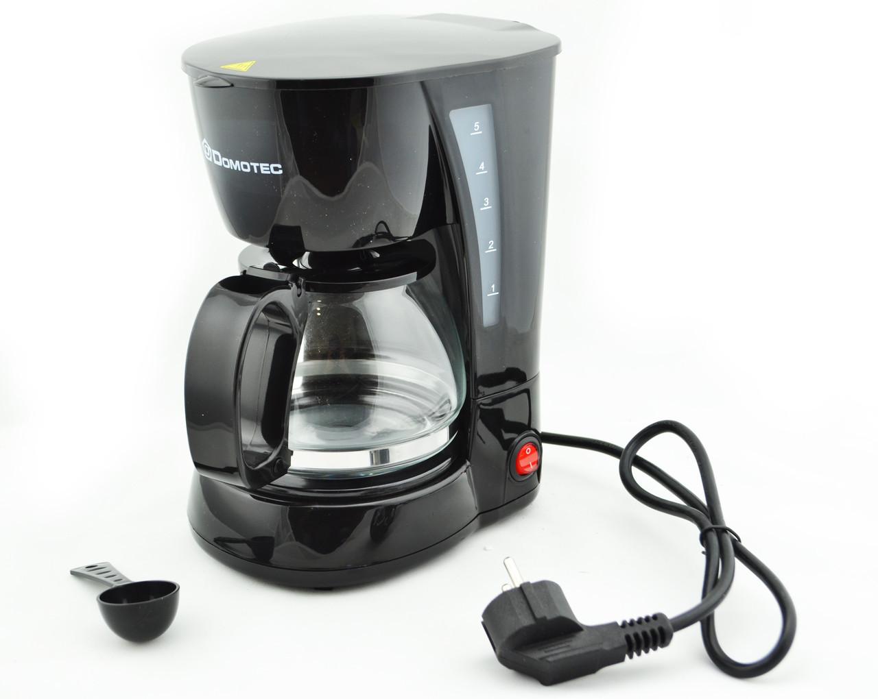 Капельная кофеварка Domotec MS-0707 (45112)