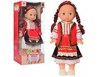 Лялька 37см,муз.(укр), на бат-ці(таб), у кор-ці, 19х39,5х11см №M 4127 UA(16)