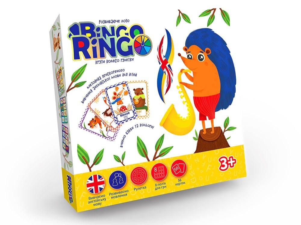 "Гра ""Bingo Ringo"" укр./англ. ""DankoToys"" №GBR-01-02E(32)"