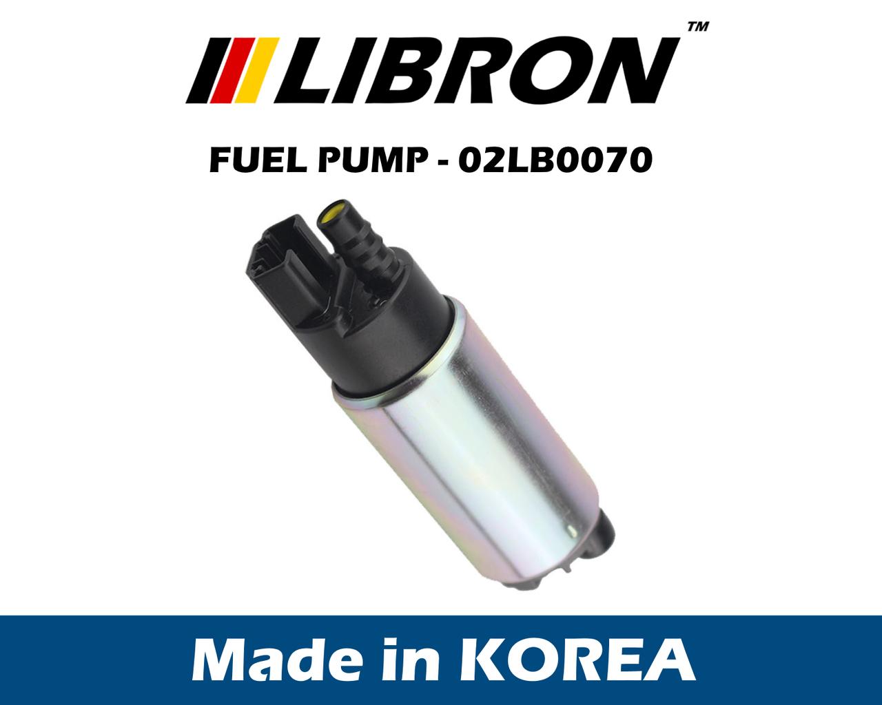 Бензонасос LIBRON 02LB0070 (аналог 0580453470 - Bosch, PDA-P001 - Parts Mall) - универсальный