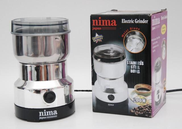 Кофемолка Nima 200 Вт Белая (hub_scOP17154)