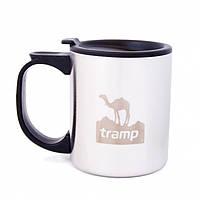 Термокружка с поилкой Tramp TRC-019 400 мл Белый с черным (gr_002854)