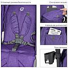 Коляска-трость El Camino BREEZE ME 1029 Violet фиолетовый**, фото 8