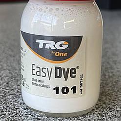 Краска для  кожи TRG 101 белая 25 мл + апликатор