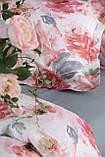 Комплект постельного белья  200*220 TM PAVIA Rosetta розовый, фото 4