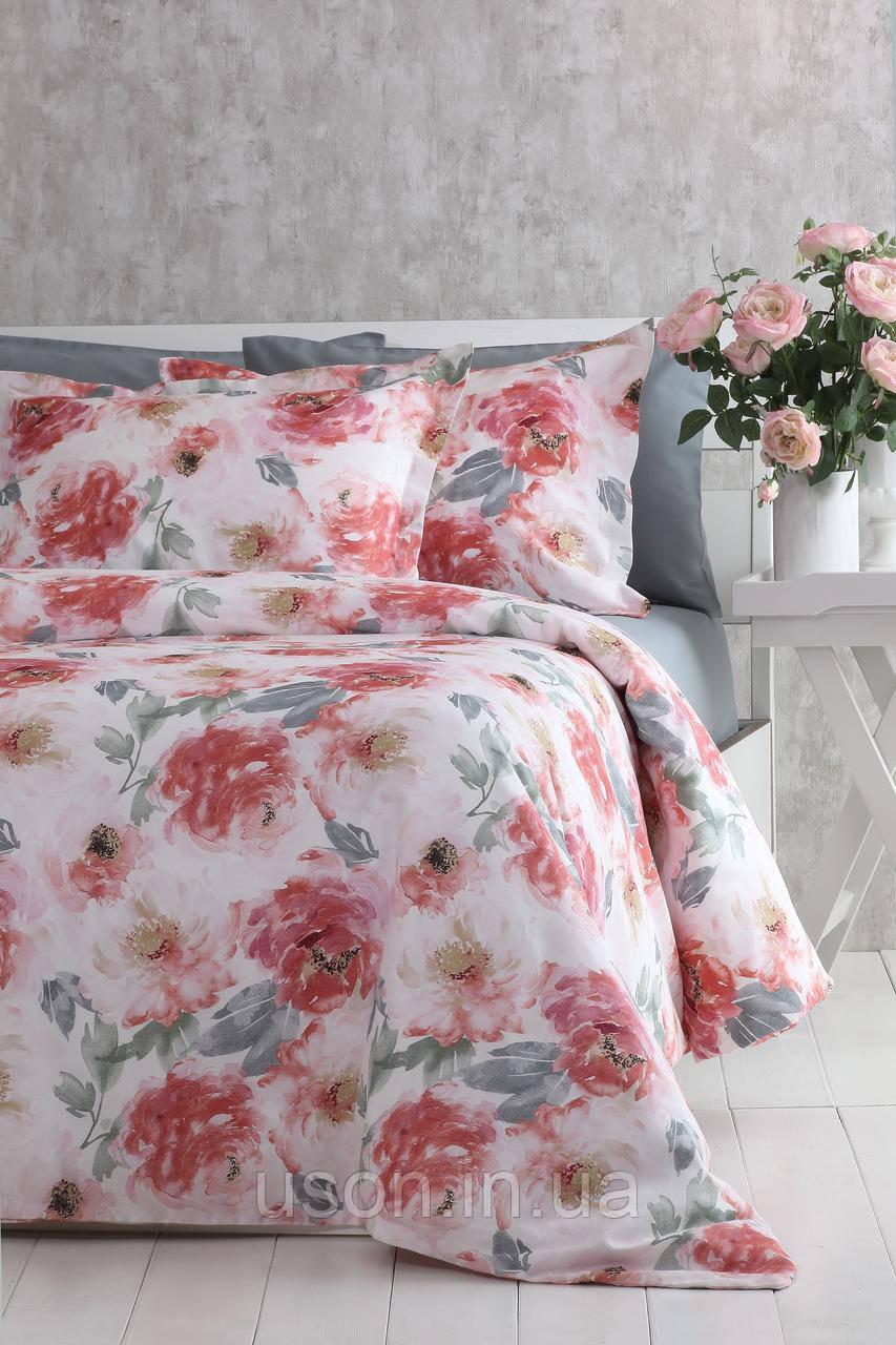 Комплект постельного белья  200*220 TM PAVIA Rosetta розовый