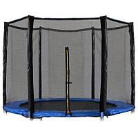 Защитная сетка для батута 10 фт 300-312 см, 6 столбиков, внешняя (захисна сітка на батут зовнішня), фото 1