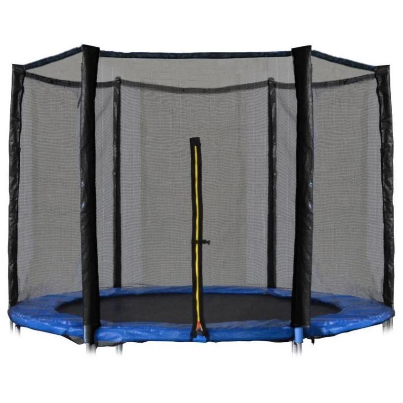 Защитная сетка для батута 10 фт 300-312 см, 6 столбиков, внешняя (захисна сітка на батут зовнішня)