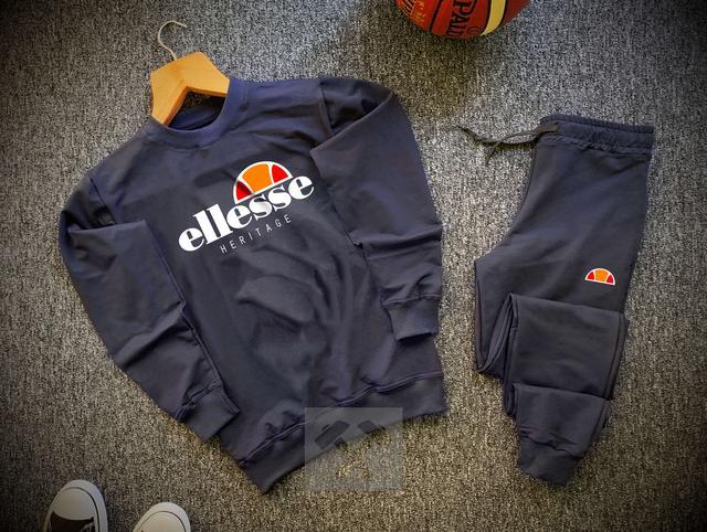 Спортивный костюм Ellesse темно-синего цвета фото