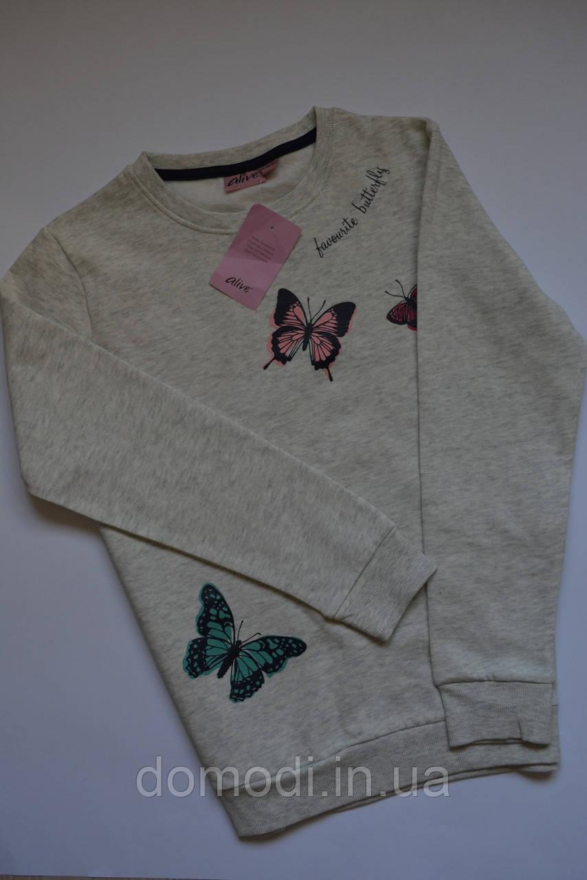 Теплий джемпер в метелики Alive (Німеччина) 11-12 років