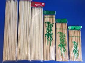 Шпажки деревянные, пластиковые, декор