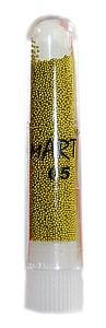 Бисер для дизайна ногтей (бульонки), цвет -  золото (средний)