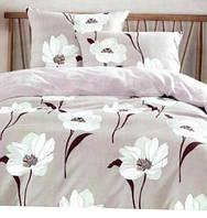 Отличное постельное белье двойка с цветами
