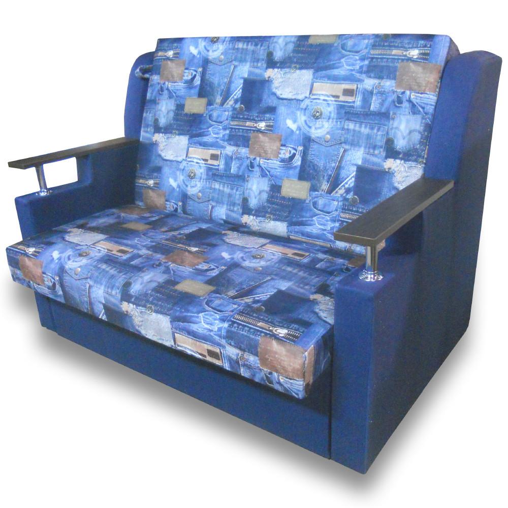Диван - кровать Марта 110см (Джинс) Детский диван с нишей для белья