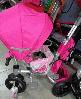 "Велосипед трехколесный Azimut T-500 ""AL"" TRANSFORME РозовыйR, фото 3"
