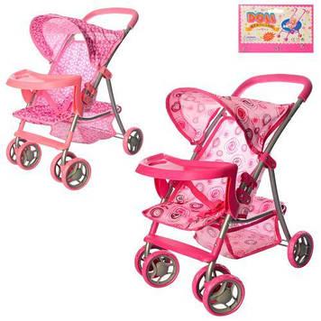 Детская коляска для кукол 9304 BWT/ 025 MELOGO