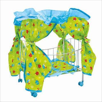 Детская кроватка для кукол 9350 / 015