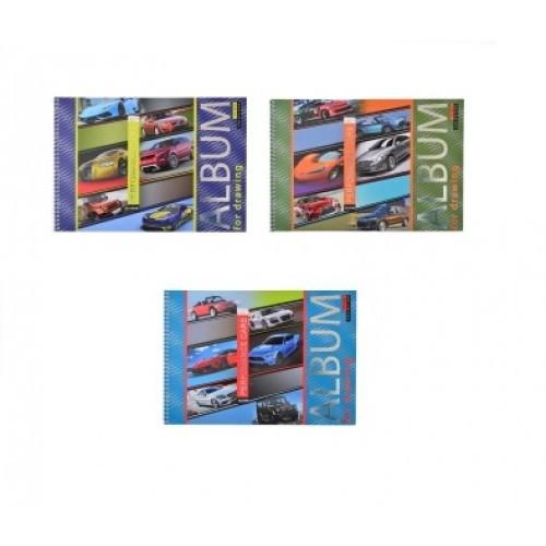 Альбом А4 YES 20арк. 130383 для рисования на спирали Performance cars (3/108)