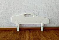 """Защитный барьер в белых оттенках """"Машинка"""" 90 см."""