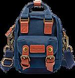 Мини - сумочка Doughnut голубая  Код 10-2150, фото 4