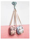 Мини - сумочка Doughnut голубая  Код 10-2150, фото 7
